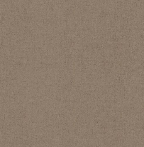 Rasch Textil Golden Memories vinyl wallpaper 324784 plain brown metallic