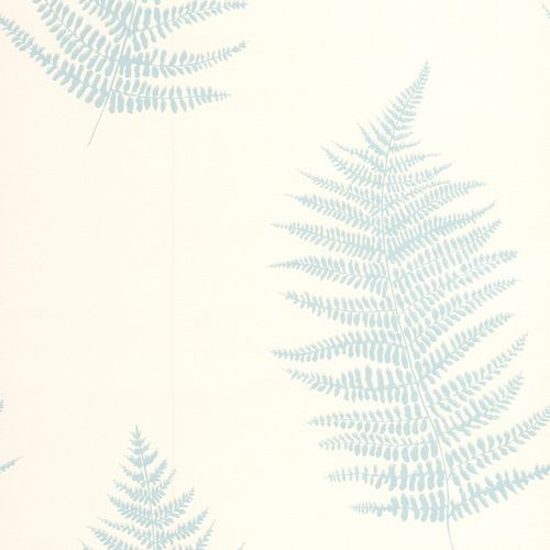 Graham & Brown non-woven wallpaper Eden 32-450 32450 fern cream turquoise online kaufen