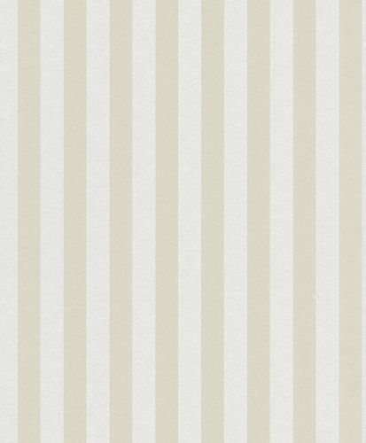 Non-woven Wallpaper Stripes Classic Small cream 361857