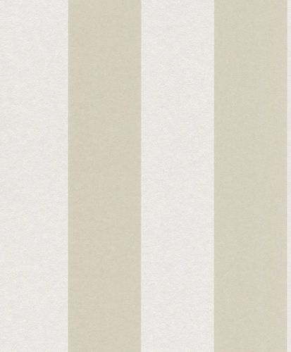 Non-woven Wallpaper Block Stripes Classic cream 361765