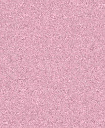 Vliestapete Uni Strukturiert rosa Rasch 740189