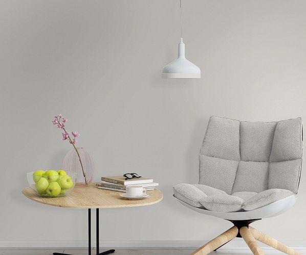 Rasch Wallpaper Trendspots Vol. 2 non-woven wallpaper 722017 plain light grey online kaufen