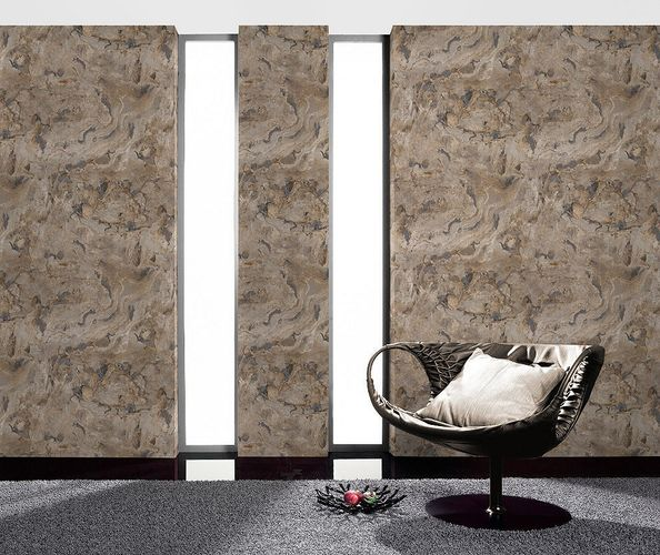 non-woven wallpaper Rasch Black Forest 514612 granite optic grey beige blue online kaufen