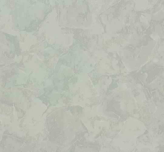 non-woven wallpaper OK 6 AS Creation 1482-85 148285 plaster-/wiping optics light grey