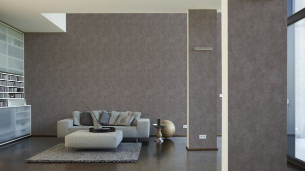 non-woven wallpaper OK 6 AS Creation 1482-23 148223 plaster-/wiping optics taupe online kaufen