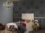 Schlafzimmer Vliestapete Barock Glitzer AS Creation Memory Tapete schwarz 95372-3 953723 6