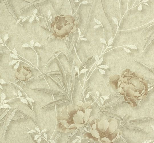 Erismann non-woven wallpaper Delia 5814-14 581414 flowers cream