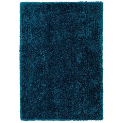 Carpet Lars Contzen Colourcourage Shaggy Design in 5 different shapes petrol online kaufen