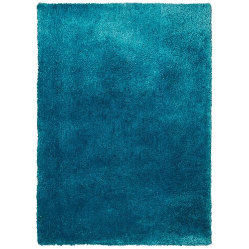 Carpet Lars Contzen Colourcourage Shaggy Design in 5 different shapes turquoise