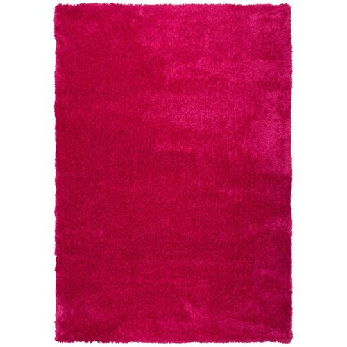 Carpet Lars Contzen Colourcourage Shaggy Design in 5 different shapes pink online kaufen