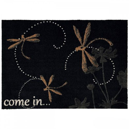 Dirt-catching mat black dragonfly come in Astra online kaufen
