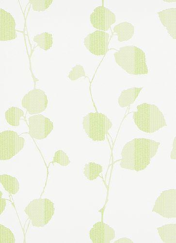 Tapeten Summer Breeze 6886-07 Blätter weiß grün online kaufen