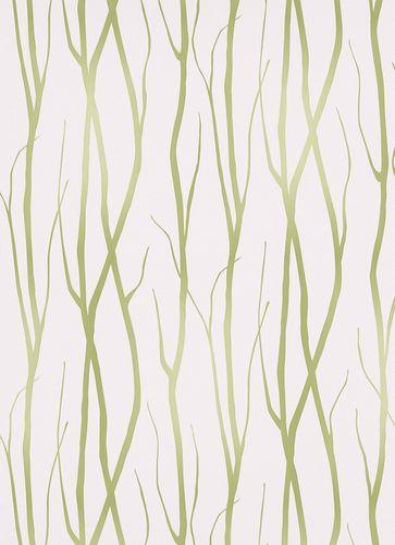 Tapeten Summer Breeze 6884-07 Ranken grün weiß online kaufen