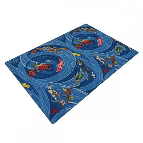 Carpet Kids rug Disney Pixar Planes Dusty Skipper Rieley 133 x 180 cm blue online kaufen