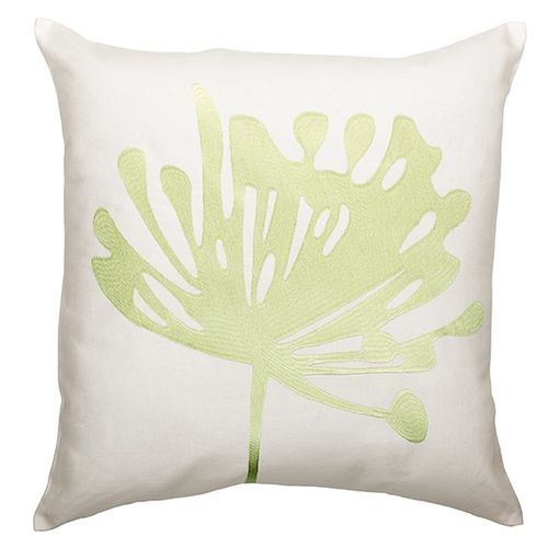cushion cover ÖKO-Tex Home vision pillowcase 50x50cm floral white green