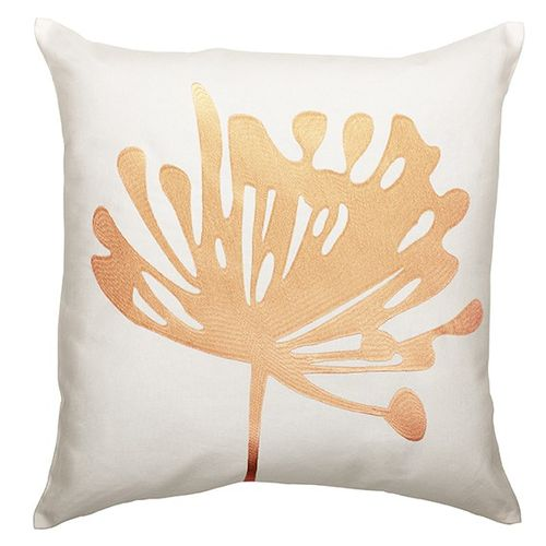 cushion cover ÖKO-Tex Home vision pillowcase 50x50cm floral white apricot online kaufen