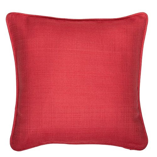 cushion cover ÖKO-Tex Home vision pillowcase 50x50cm plain structure red