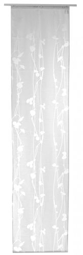 Panel curtain white semitransparent 60x245 cm 190354 online kaufen