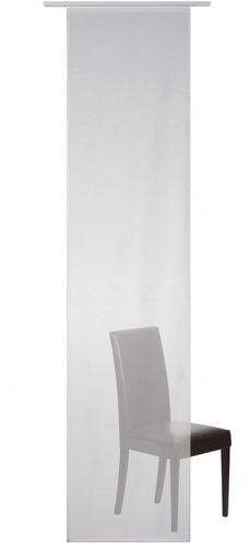 Panel curtain white semitransparent 60x245 cm 190361