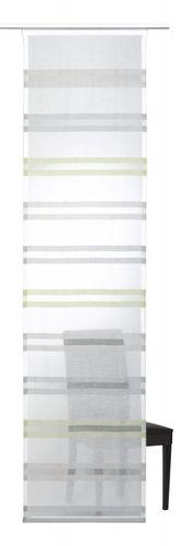 Flächenvorhang Elbersdrucke 60x245 Streifen weiß grün online kaufen