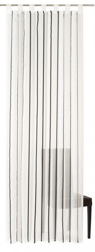 Loop curtain Elbersdrucke Bits And Bytes 08 transparent curtain stripes online kaufen