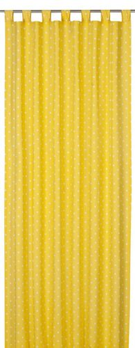 Loop curtain Elbersdrucke Kids' Club Dots 02 opaque curtain dots yellow