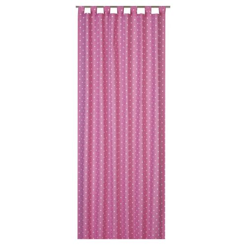 Loop curtain Elbersdrucke Kids' Club Dots 04 opaque curtain dots pink online kaufen