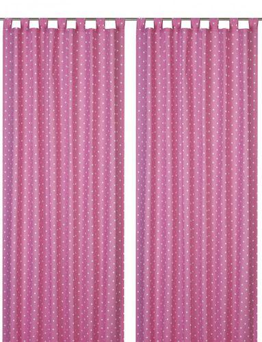 Loop curtain Elbersdrucke Kids' Club Dots 04 opaque dots pink online kaufen