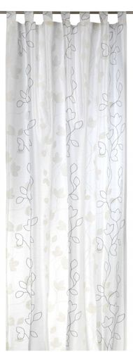 Loop curtain Elbersdrucke Floral Beauty 09 opaque curtain nature online kaufen