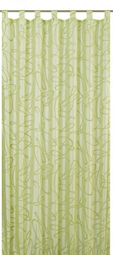 Loop curtain Elbersdrucke Free 03 opaque curtain green online kaufen