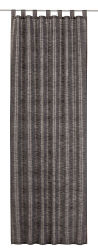 Loop curtain Elbersdrucke Metropolis 07 opaque curtain anthracite