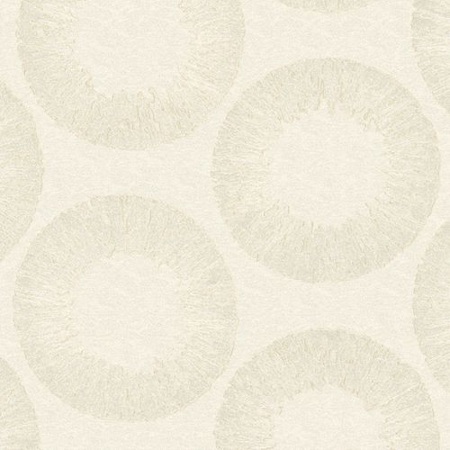 Non-Woven Wallpaper Circle cream Marburg 54915  online kaufen
