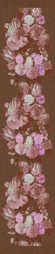 Tapeten Panel 990x70cm Floral braun beige Marburg 54988