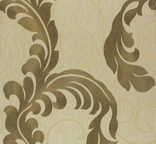 Marburg non-woven wallpaper 55102 vines beige gold