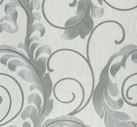 Marburg Da Milano non-woven wallpaper 55104 vines design silver grey metallic online kaufen