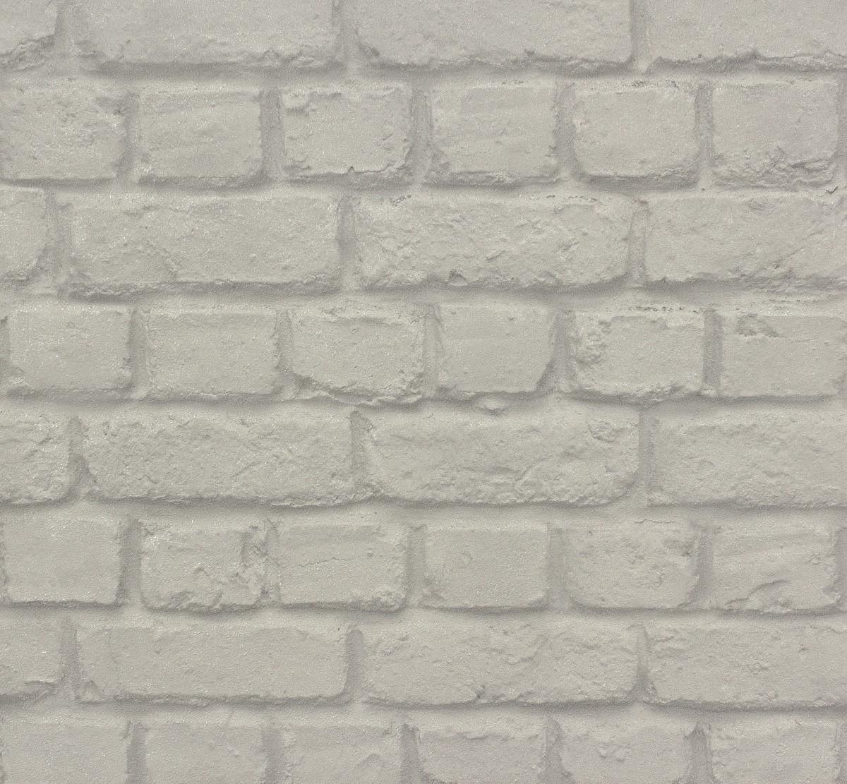 Rasch non woven wallpaper 587227 kids teens stone optic - Steintapete beige ...