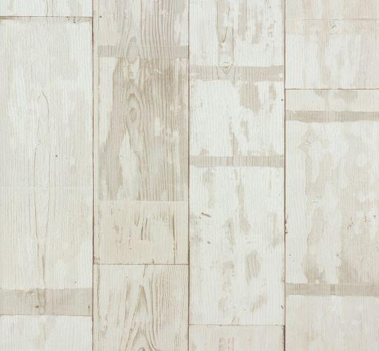 Rasch non-woven wallpaper 587104 Kids & Teens wooden optic cream/white online kaufen