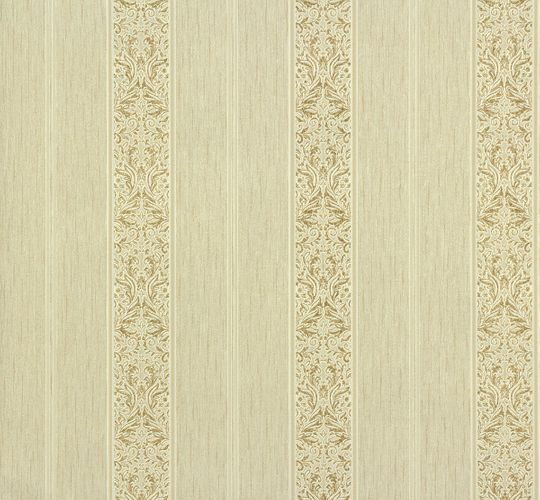 Non-woven wallpaper stripes cream gold P+S Como 02356-40 0235640 online kaufen
