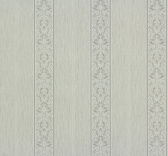 Non-woven wallpaper floral stripes grey P+S Como 02356-60 0235660  online kaufen