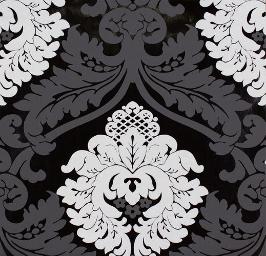 Pop up panel 35x250cm self-adhesive 3D-effect 95566-1 baroque black white  online kaufen