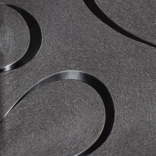 Wallpaper Luigi Colani Marburg 53340 texture black silver online kaufen