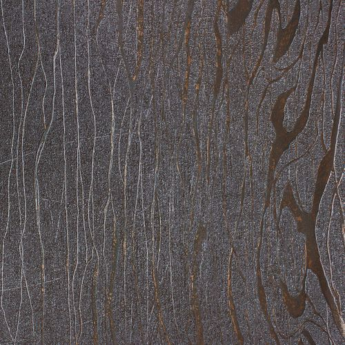 Wallpaper Luigi Colani Marburg 53329 texture silver brown