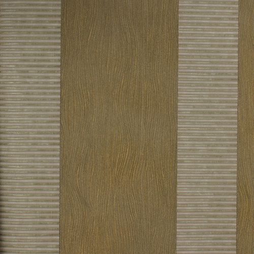 Wallpaper Luigi Colani Marburg 53348 stripes beige gold