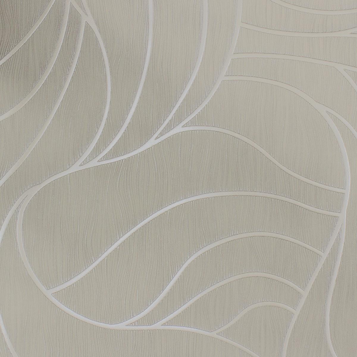 vliestapete luigi colani grafisch creme grau 53345. Black Bedroom Furniture Sets. Home Design Ideas