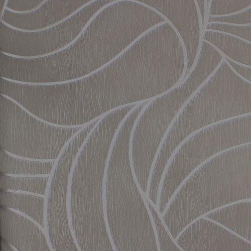 Wallpaper Luigi Colani Marburg 53346 texture grey silver