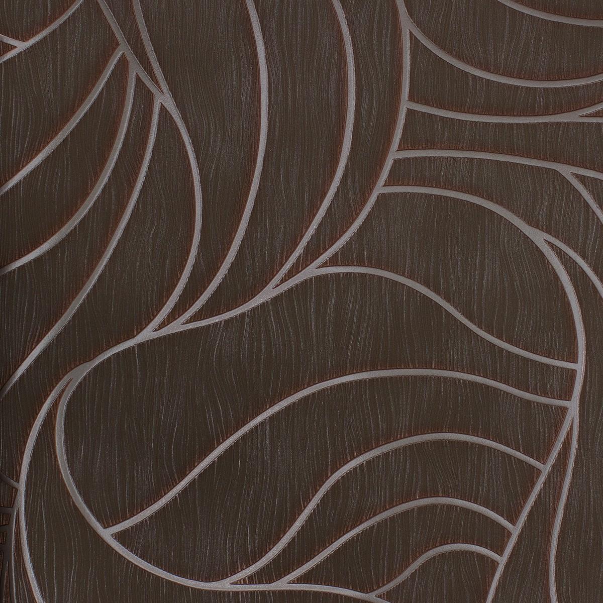 vliestapete luigi colani grafisch braun 53343. Black Bedroom Furniture Sets. Home Design Ideas