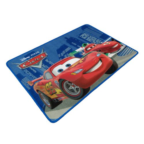 Carpet kids carpet Cars 2 McQueen & Francesco carpet 80x120 cm red blue online kaufen