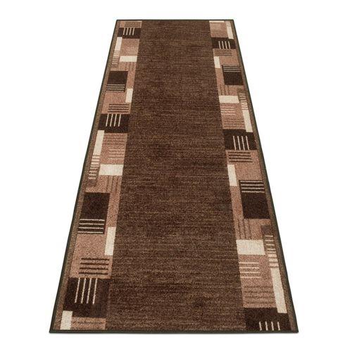Runner Rug Carpet Montana border brown 67cm Width online kaufen