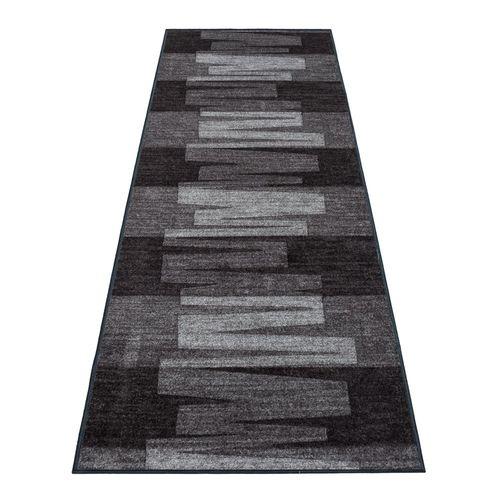 Teppichläufer Läufer Via Veneto Muster grau 80cm Breite online kaufen