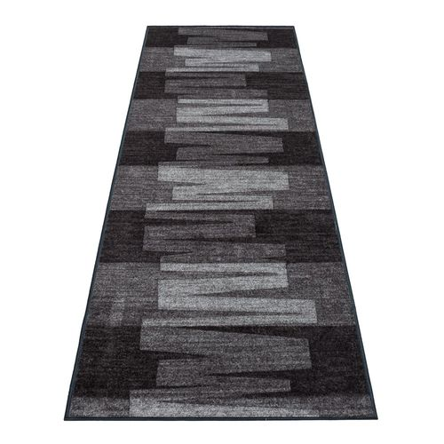 Runner Rug Carpet Via Veneto design grey 80cm Width online kaufen